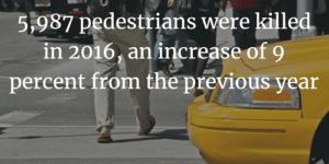 pedestrian fatalities 2015